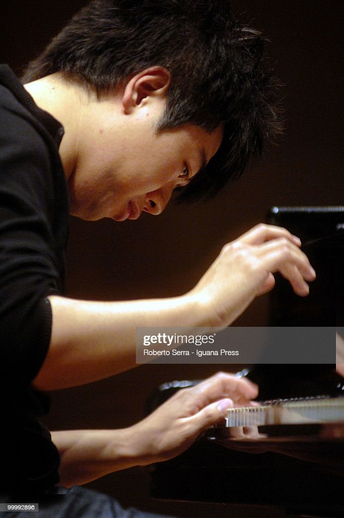 Chinese pianist Lang Lang performs on concert for Musica Insieme at the auditorium Manzoni on May 19, 2010 in Bologna, Italy.