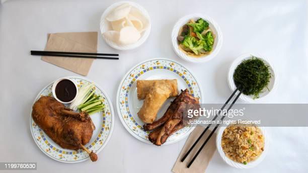 chinese plates - jcbonassin stock-fotos und bilder