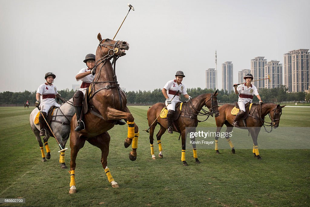 Polo Looks To Grow In China : News Photo