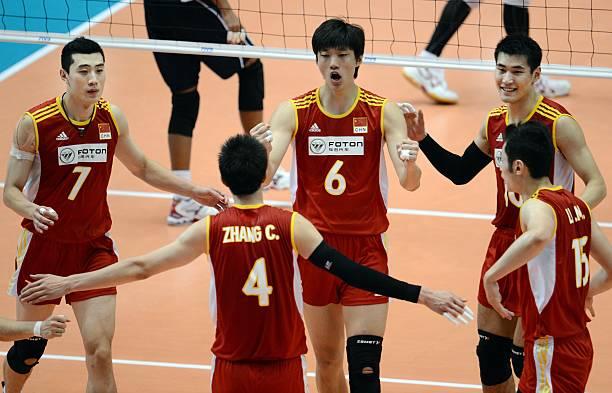 Chinese Players Zhong Weijun  Zhang