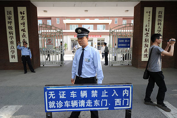 Chinese Police Film Foreign Journalists Pictures Getty Images