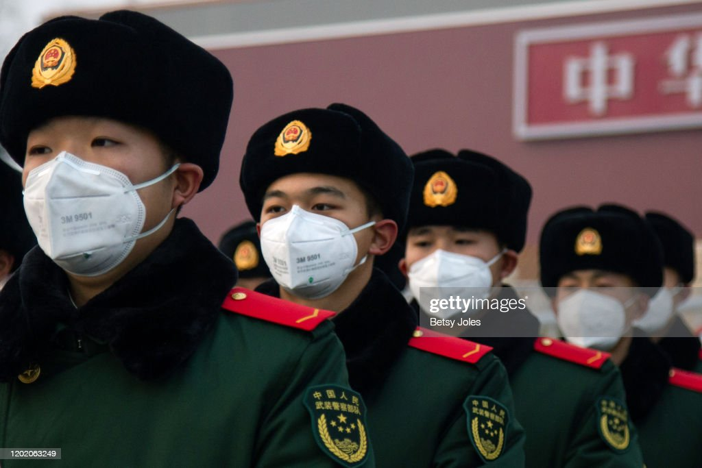 30 Provinces Launch The First Level Response To Major Public Health Emergencies In China : ニュース写真