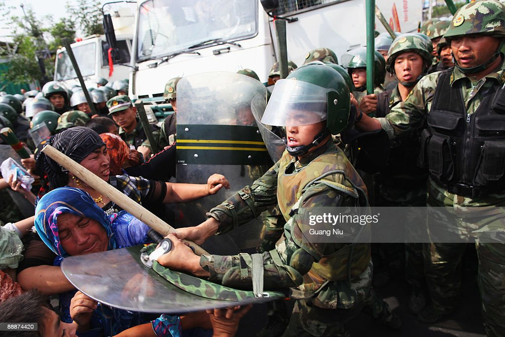 Riots Occur In China's Urumqi Ethnic Region : News Photo