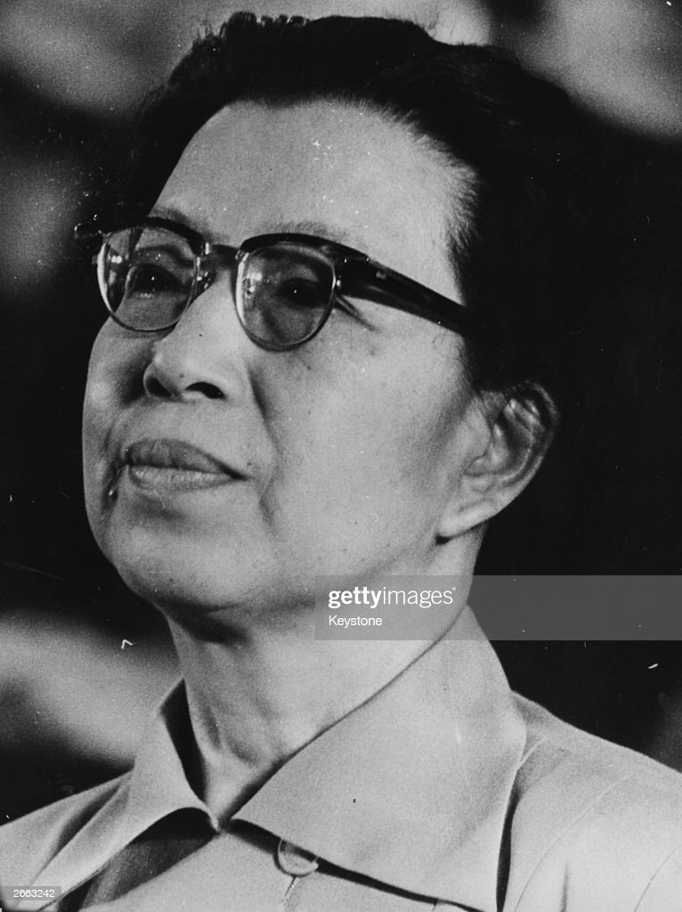 Chinese politician Chiang Ch'ing (1914 - 1991), widow of Mao Tse Tung.