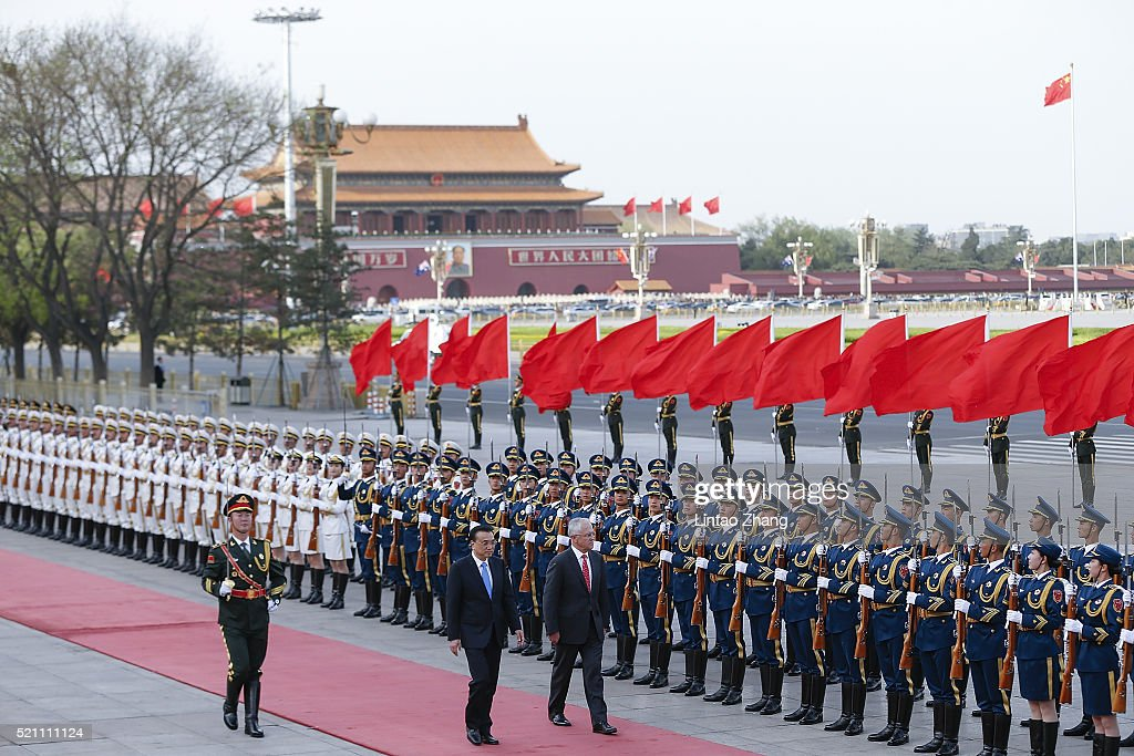 Australian Prime Minister Malcolm Turnbull Visits China : News Photo