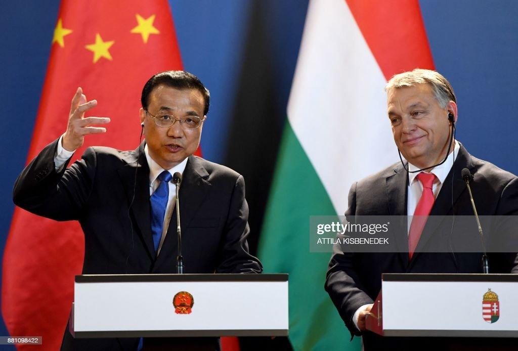 HUNGARY-CHINA-POLITICS-DIPLOMACY : News Photo