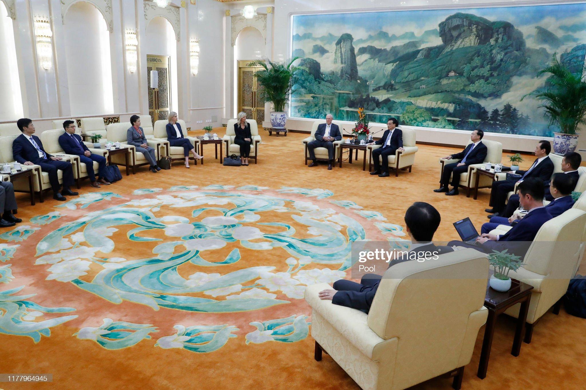 Former US Treasury Secretary Henry Paulson Visits China : News Photo