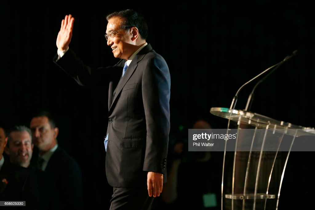 Chinese Premier Li Keqiang Attends Trade And Enterprise Luncheon