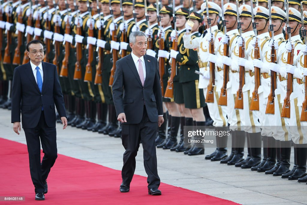 Singapore Prime Minister Lee Hsien Loong Visits China