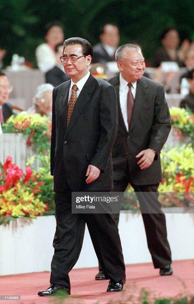 LI PENG AND TUNG CHEE-HWA : ニュース写真