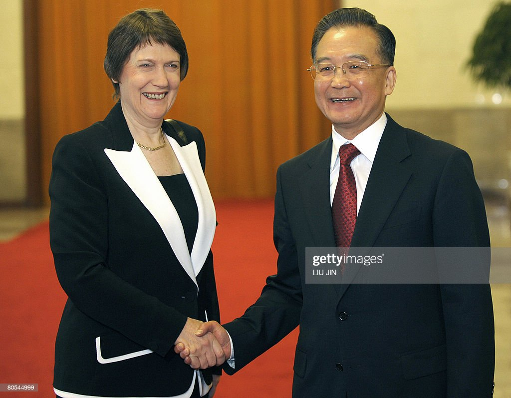 Chinese Premier Wen Jiabao R Shakes Ha Pictures Getty Images