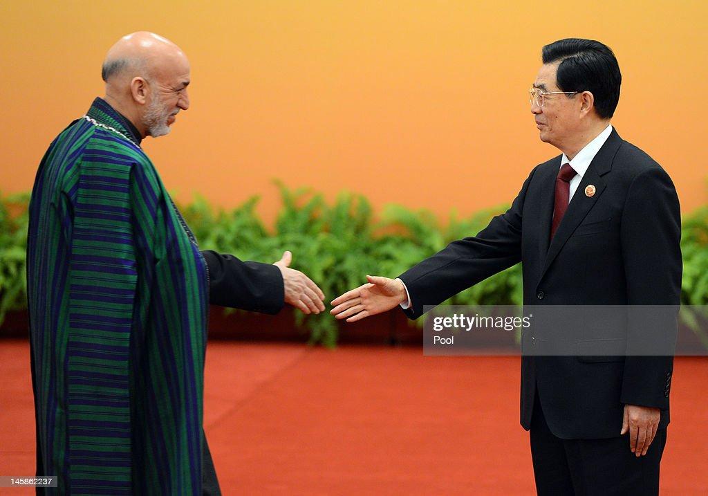China Hosts SCO Summit : News Photo