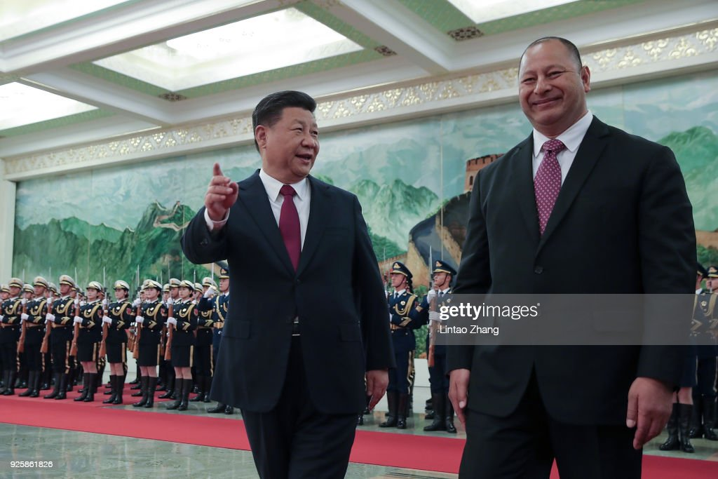 King Of Tonga Toupu VI Visits China