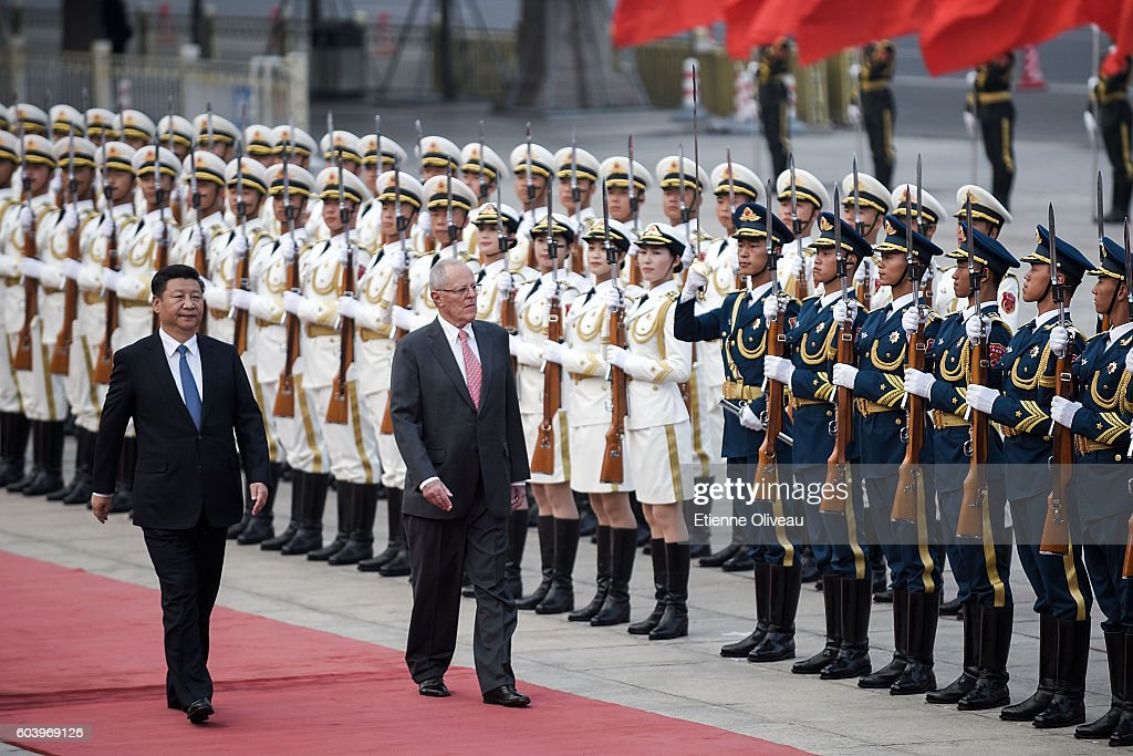 President Of Peru Pedro Pablo Kuczynski Visits China
