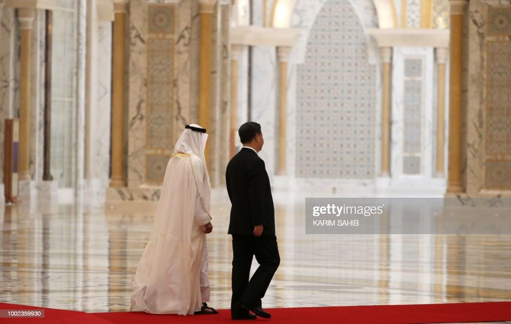 UAE-CHINA-DIPLOMACY : Foto di attualità
