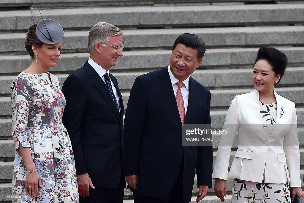 CHINA-BELGIUM-DIPLOMACY : News Photo