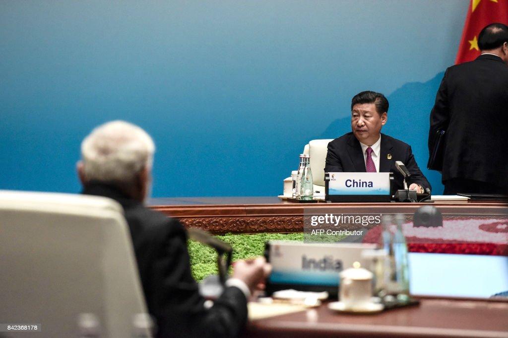 CHINA-DIPLOMACY-BRICS : News Photo