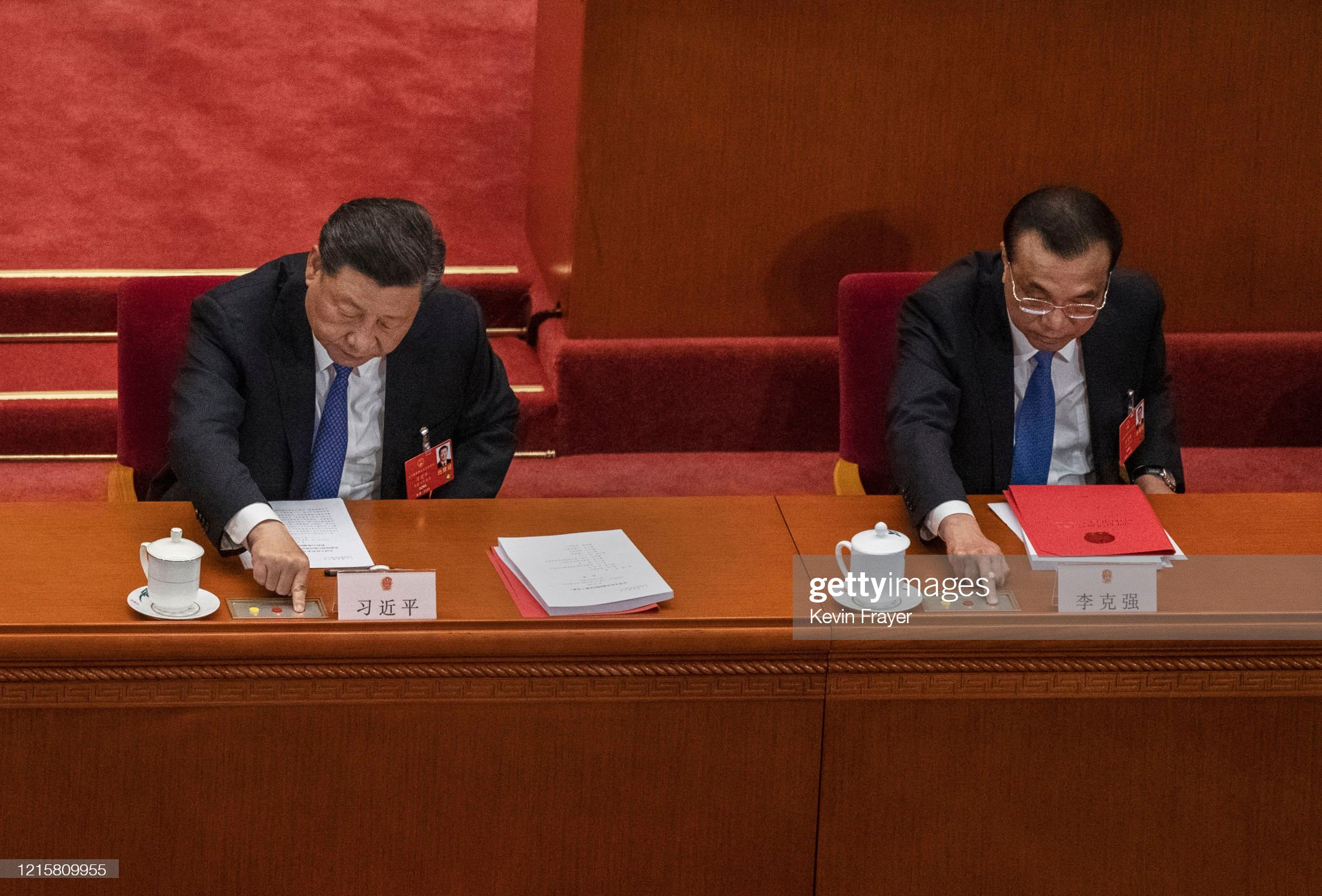 China Holds Annual Two Sessions Meetings Amidst Global Coronavirus Pandemic : News Photo