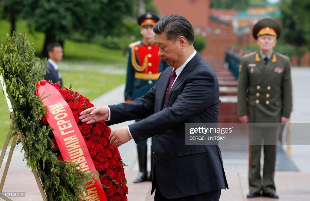 RUSSIA-CHINA-POLITICS-DIPLOMACY : News Photo