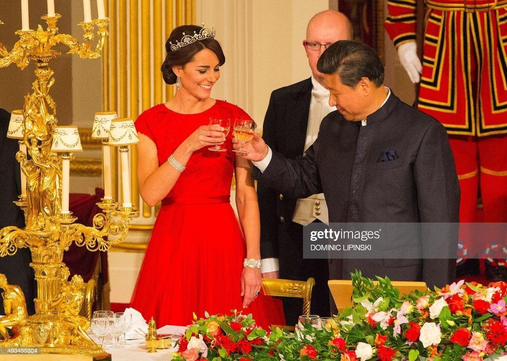BRITAIN-CHINA-DIPLOMACY : News Photo