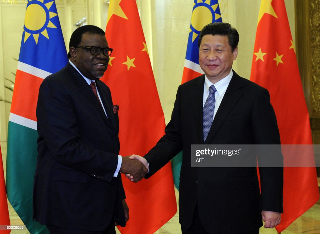 CHINA-NAMIBIA-DIPLOMACY : News Photo