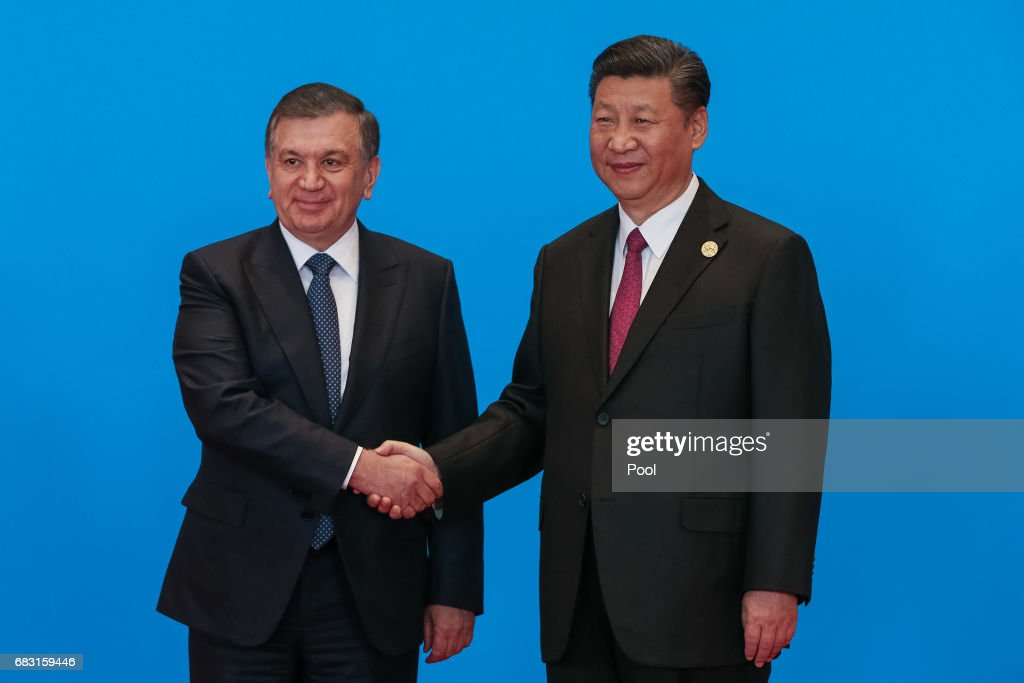 The Belt and Road Forum in Beijing : News Photo