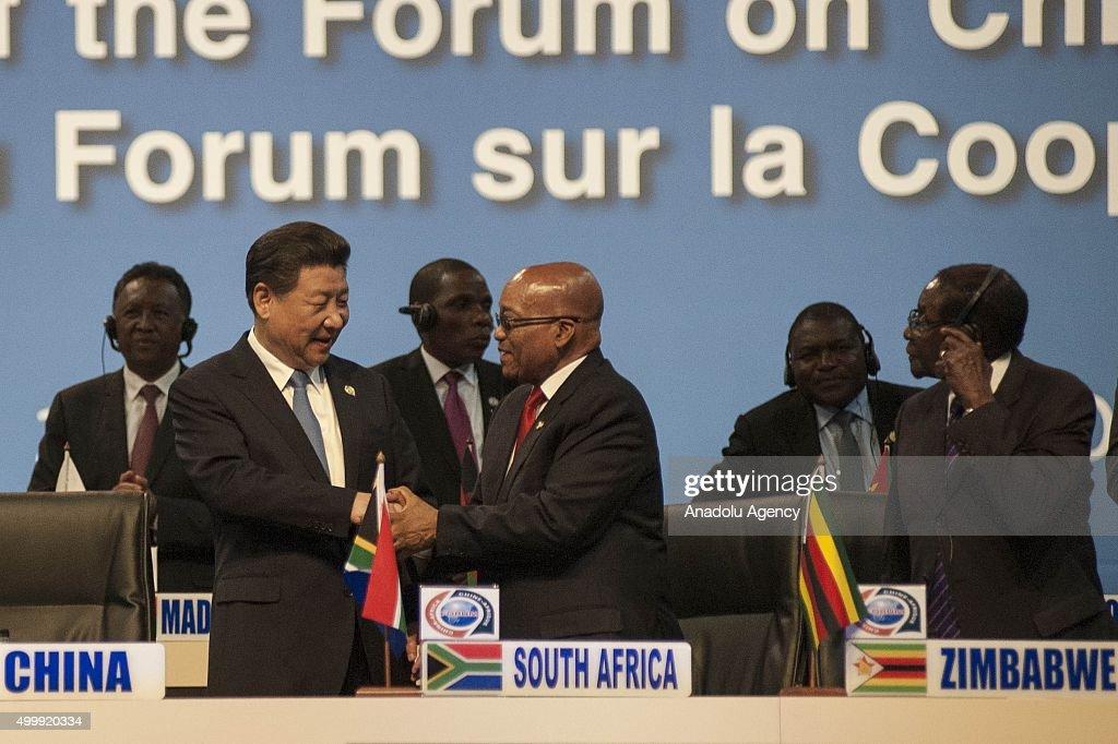 China-Africa cooperation forum in Johannesburg : ニュース写真
