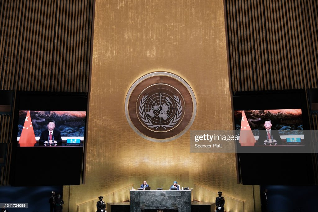 Annual United Nations General Assembly Brings World Leaders Together In Person, And Virtually : News Photo
