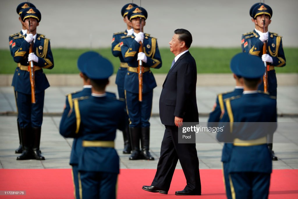 Chinese President Xi Jinping Attends Martyrs' Day Ceremony : News Photo