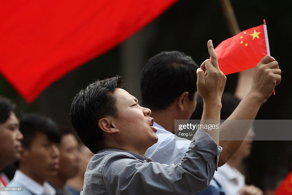 What is the middle finger in china