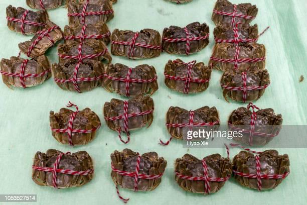 Chinese raw Hairy crab