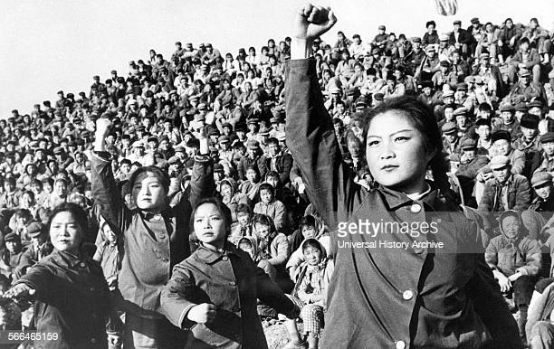 Chinese red guards during the cultural revolution in China 1966