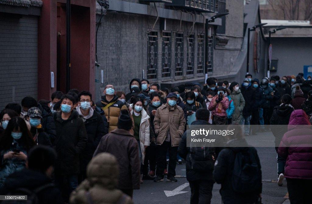 China Daily Life Amid Global Pandemic : ニュース写真
