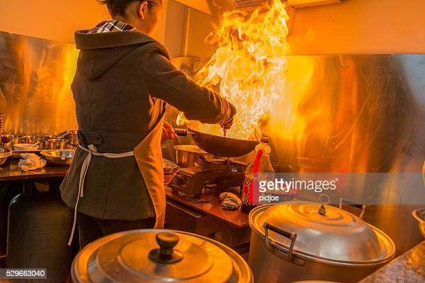 Chinese Restaurant cooking