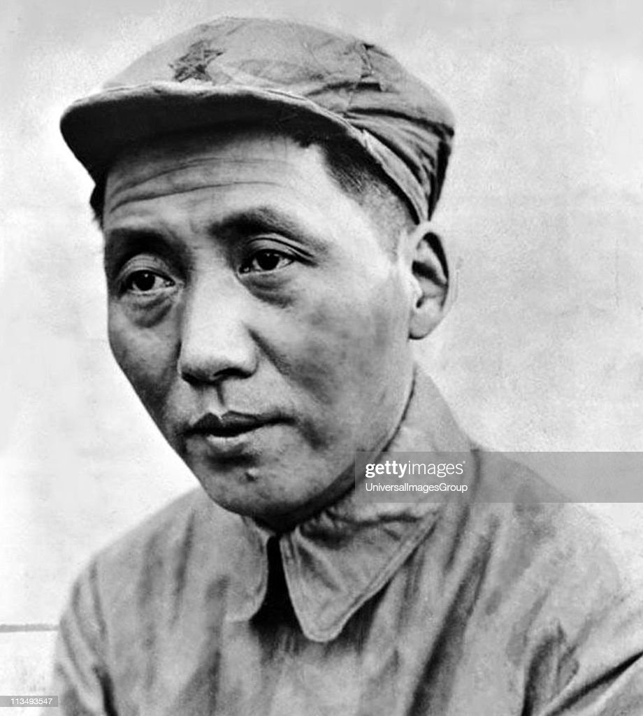 Mao Zedong 1893 - 1976. Chinese revolutionary, political theorist and communist leader. He led the People's Republic of China (PRC) from its establishment in 1949 until his death in 1976. ... : News Photo