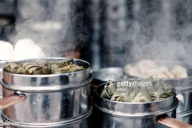 Chinese Rice Dumpling, Bak Chang or Zongzi