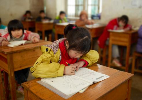 Chinese school children 143922942