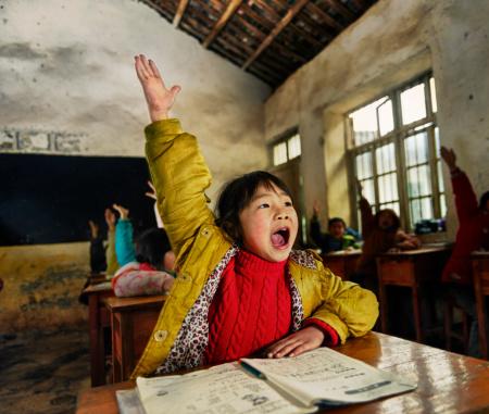Chinese school children 156323196