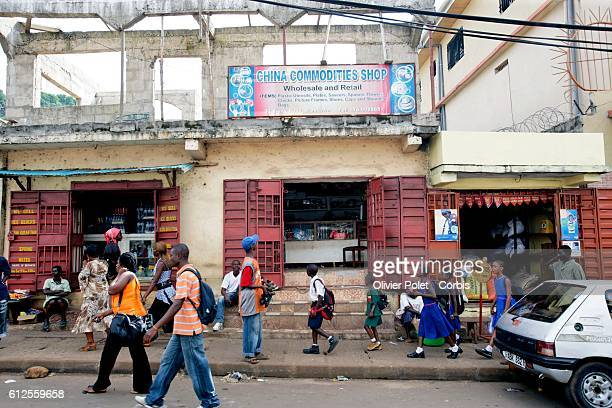 A Chinese shop in Freetown According to the Foreign Ministry of China SinoSierra Leone cooperation of mutual benefit started in 1984 Since the...