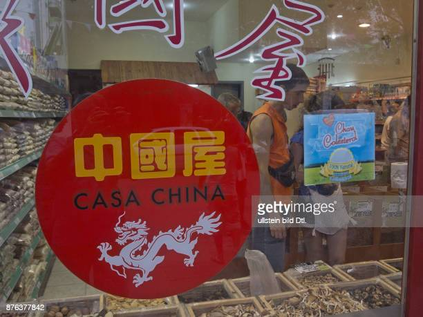 Chinese shops in BelgranoBuenos Aires Argentina