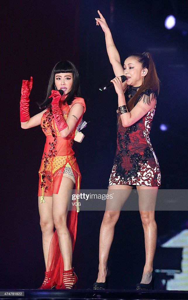 "Jolin Tsai Holds ""2015 PLAY"" World Tour Concert In Taipei"