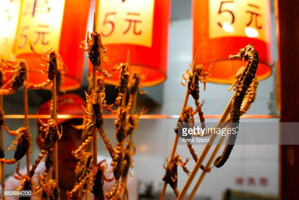 Chinese snack food scorpions