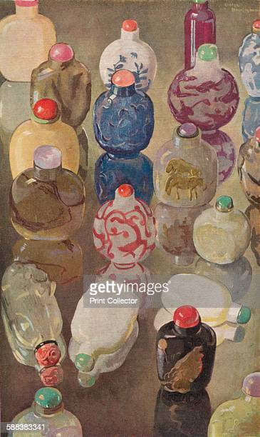 Chinese Snuff Bottles' c1923 From The Studio Volume 85