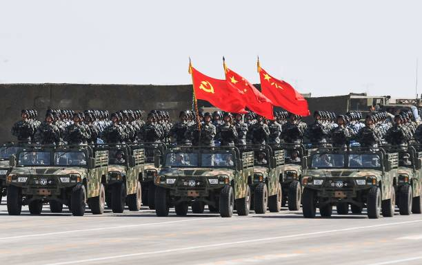 THE PEOPLE'S LIBERATION ARMY, CHINA