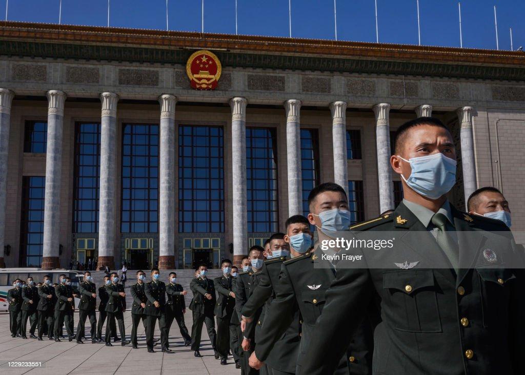 China Marks 70th Anniversary Of Entry Into Korean War : News Photo