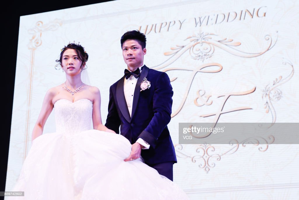 su bingtian and hold wedding ceremony in zhongshan photos and