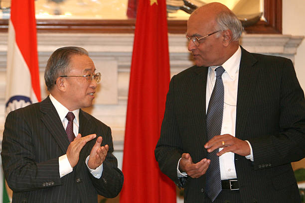 Mou Signed Between India And China Pictures Getty Images