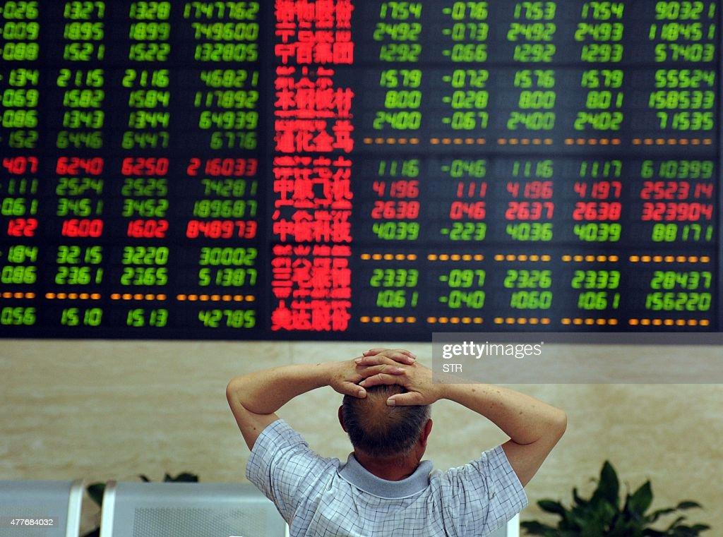 CHINA-STOCKS : News Photo