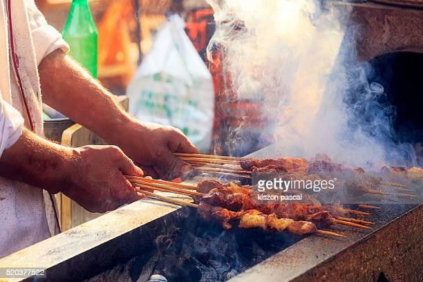 chinese street food ( China )