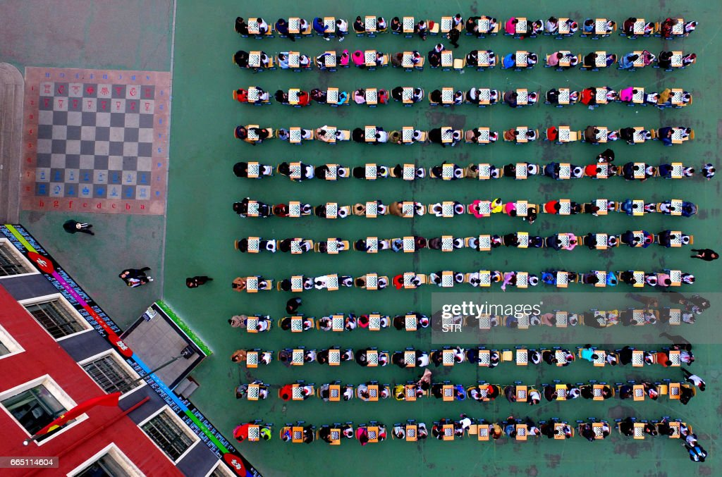 TOPSHOT-CHINA-EDUCATION-SCHOOL : Foto di attualità